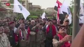 Video «Irakische Armee drängt Kurden zurück» abspielen