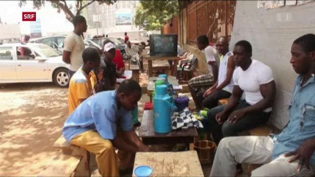Video «Warum vermehrt Flüchtlinge aus Guinea?» abspielen