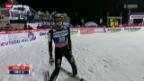 Video «Skispringen: Qualifikation in Harrachov» abspielen