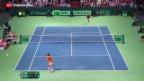 Video «Tennis: Weiter am Davis-Cup» abspielen
