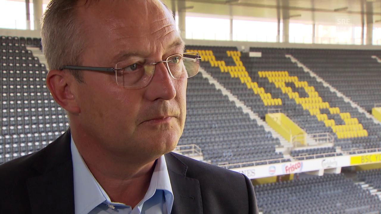 Fussball: YB Sportchef Fredy Bickel zur Entlassung von Trainer Uli forte