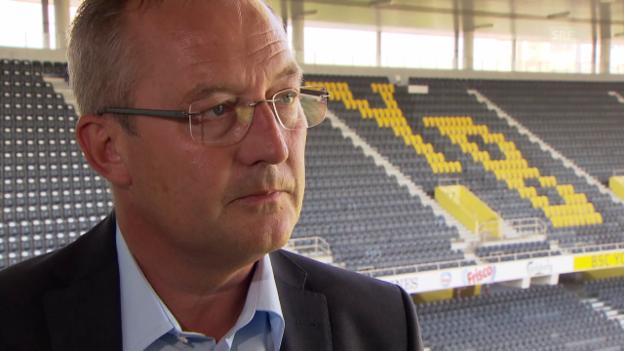 Video «Fussball: YB Sportchef Fredy Bickel zur Entlassung von Trainer Uli forte» abspielen