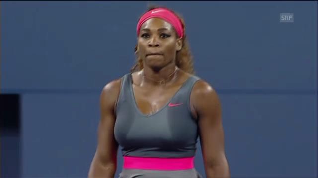 Tennis: Matchball von Serena Williams (unkommentiert)
