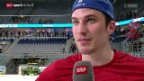 Video «Eishockey: Stimmen zum Spiel» abspielen