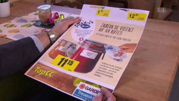 Video «Aufruf zum Etikettenschwindel: Hero verärgert Bauern» abspielen
