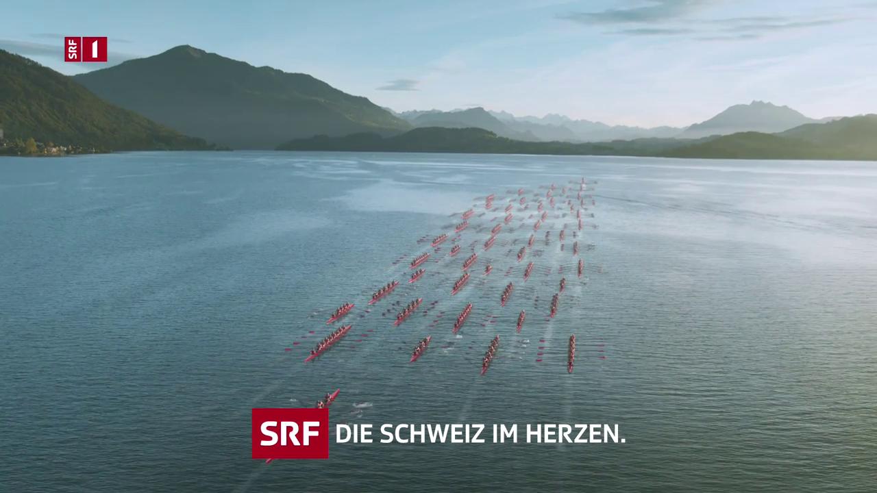 Station Ident SRF 1: Rudern