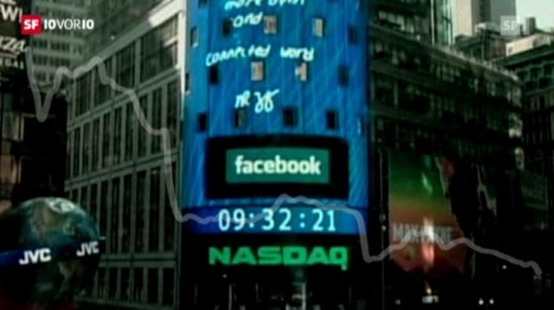 Video «Verpatzter Börsengang» abspielen