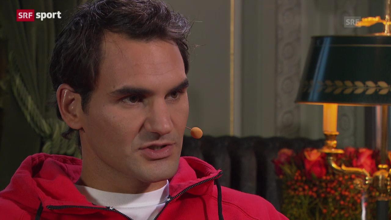 Roger Federer in der «sportlounge»