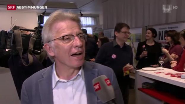 Video «Markus Bischoff (AL/ZH): «Beachtliches Resultat»» abspielen
