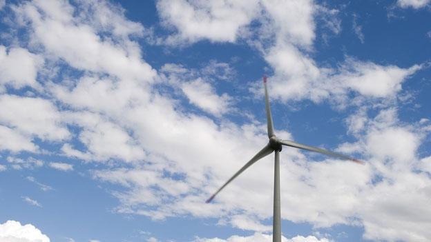Johannes Jenny (Pro Natura) und Gregor Zimmermann (Grüne) streiten über Windenergie (Maurice Velati, 06.12.2012)