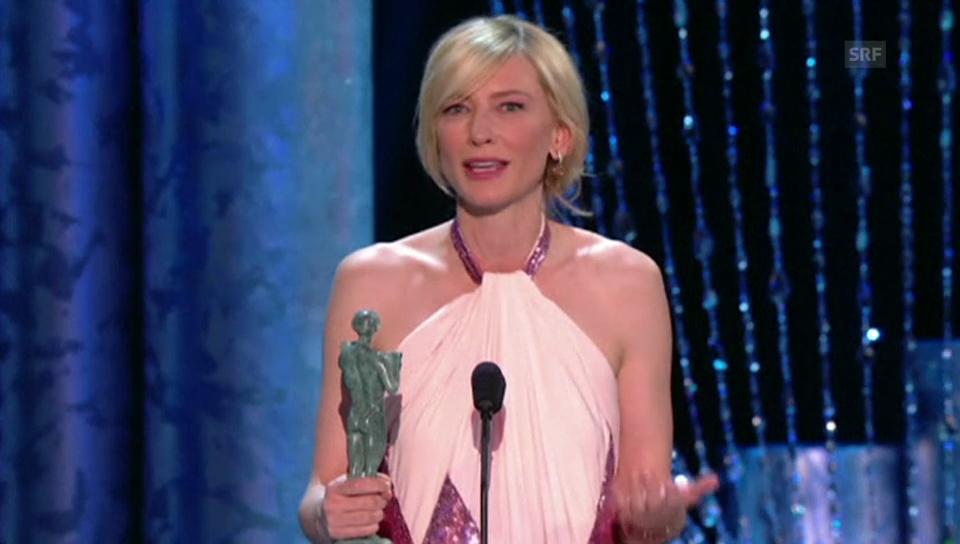 Cate Blanchett und Jared Leto sagen Danke