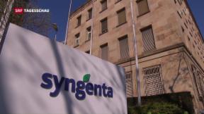 Video «Syngenta-Fusion: Weitere Hürde geschafft» abspielen