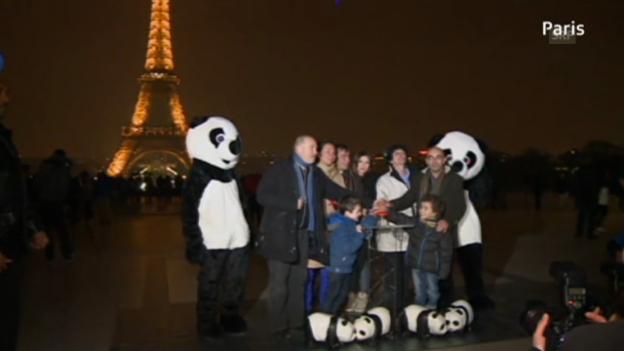 Video ««Earth Hour» rund um den Globus (unkommentiert)» abspielen