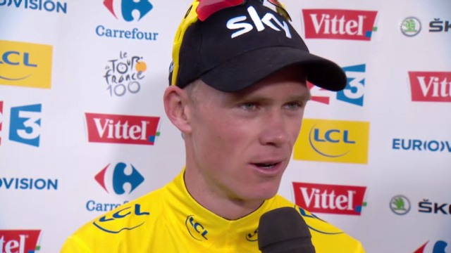 Chris Froome im Interview (englisch)
