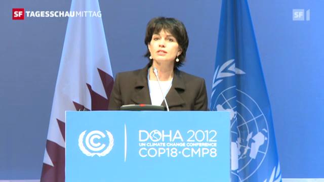 Schweizer Rückendeckung für verlängertes Kyoto-Protokoll