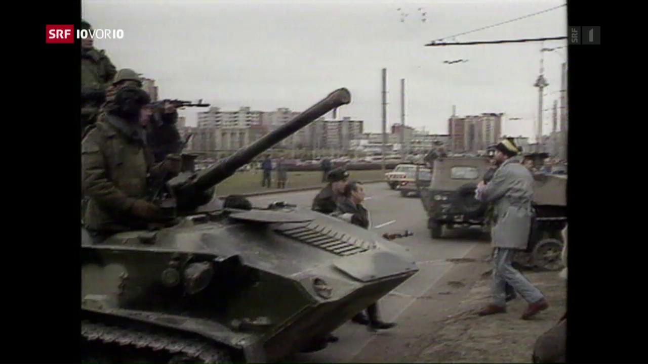 Armeeeinsatz in Vilnius