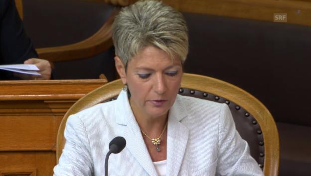 Video «Ständerätin Keller-Sutter: Bürokratische Hürden abbauen» abspielen
