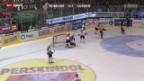 Video «Eishockey: Fribourg - Lugano» abspielen