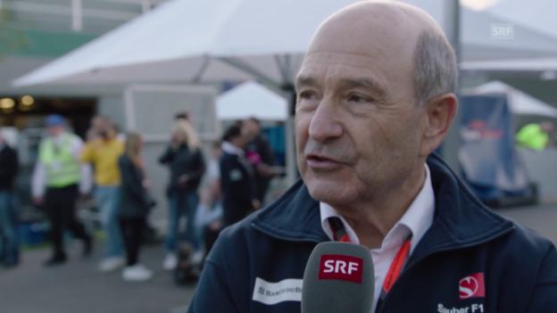 Video «Formel 1: GP Australien, Interview mit Peter Sauber» abspielen