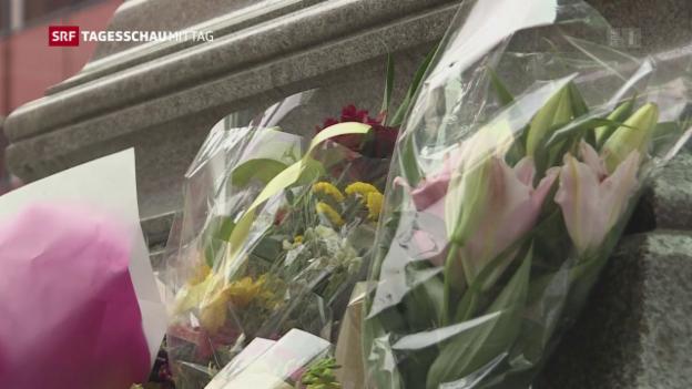Video «England am Tag nach dem Anschlag von Manchester» abspielen