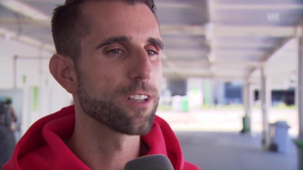 Video «Trainer Zberg: «Ich bin guten Mutes»» abspielen