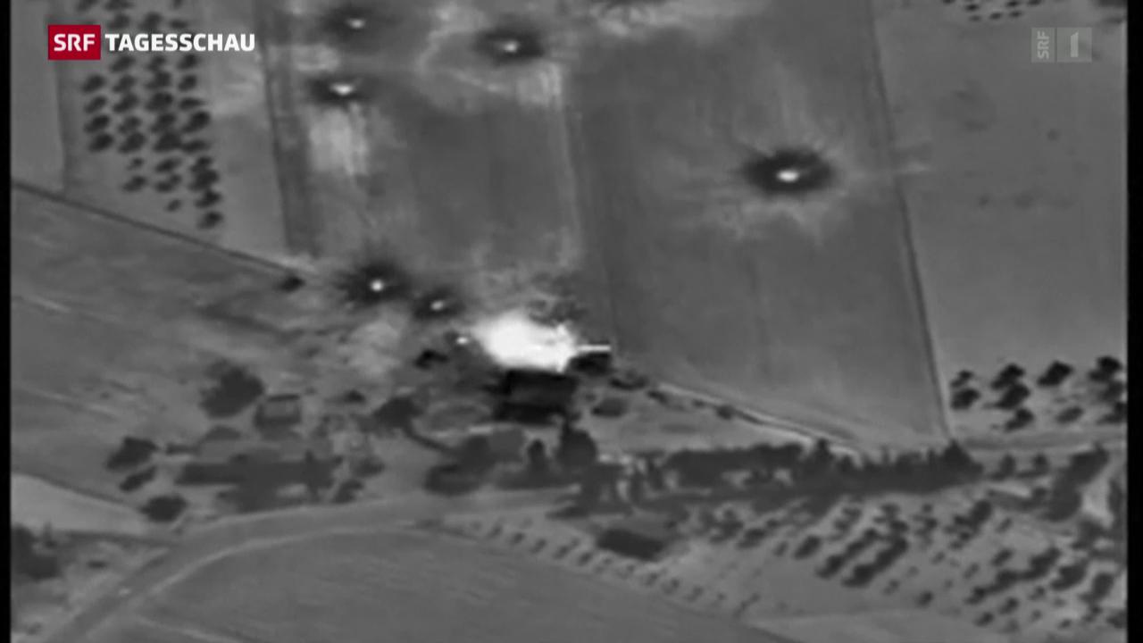 Kritik an russischen Militärschlägen