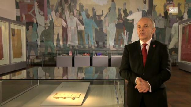 Video «Neujahrsansprache von Ueli Maurer» abspielen