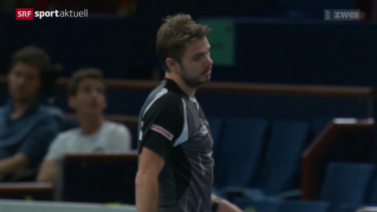 Tennis: Wawrinka - Anderson in Paris-Bercy