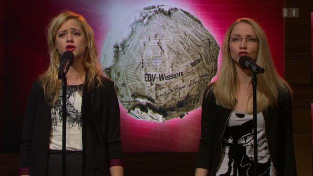 Video «Auftritt Lara Stoll und Martina Hügi» abspielen