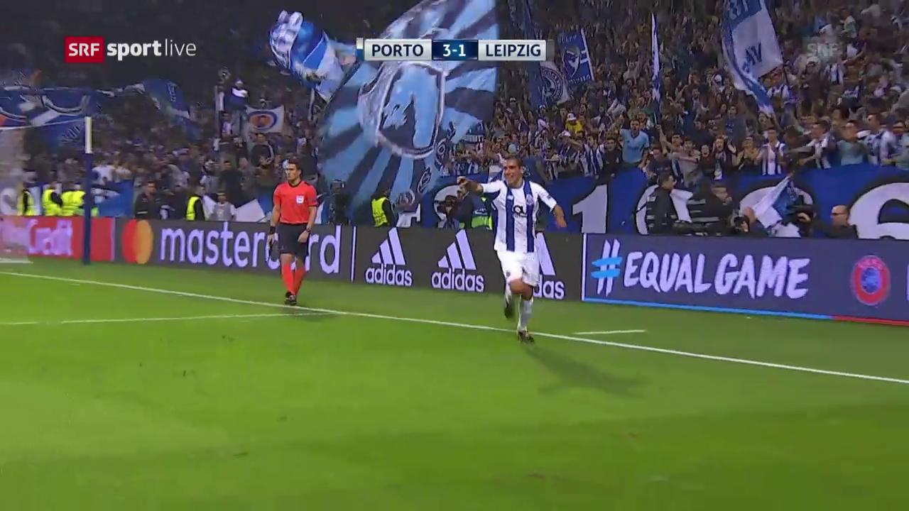 Porto verschafft sich dank Heimsieg gegen Leipzig Luft