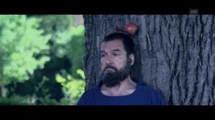 Video «Die TELLenovela in Küssnacht: Nik Hartmann trifft Willhelm Tell» abspielen