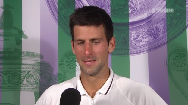 Video «Novak Djokovic im Interview («sportlive»)» abspielen