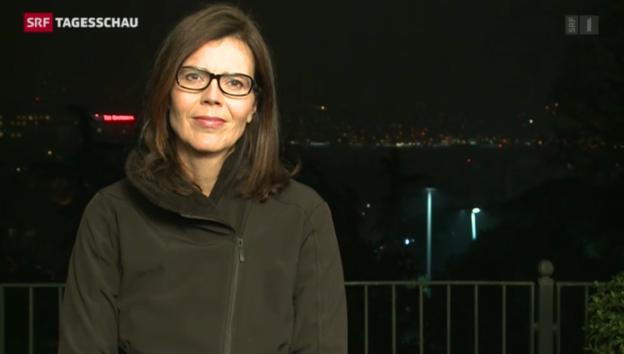 Video «SRF-Korrespondentin Ruth Bossart zum Papst-Besuch in der Türkei» abspielen