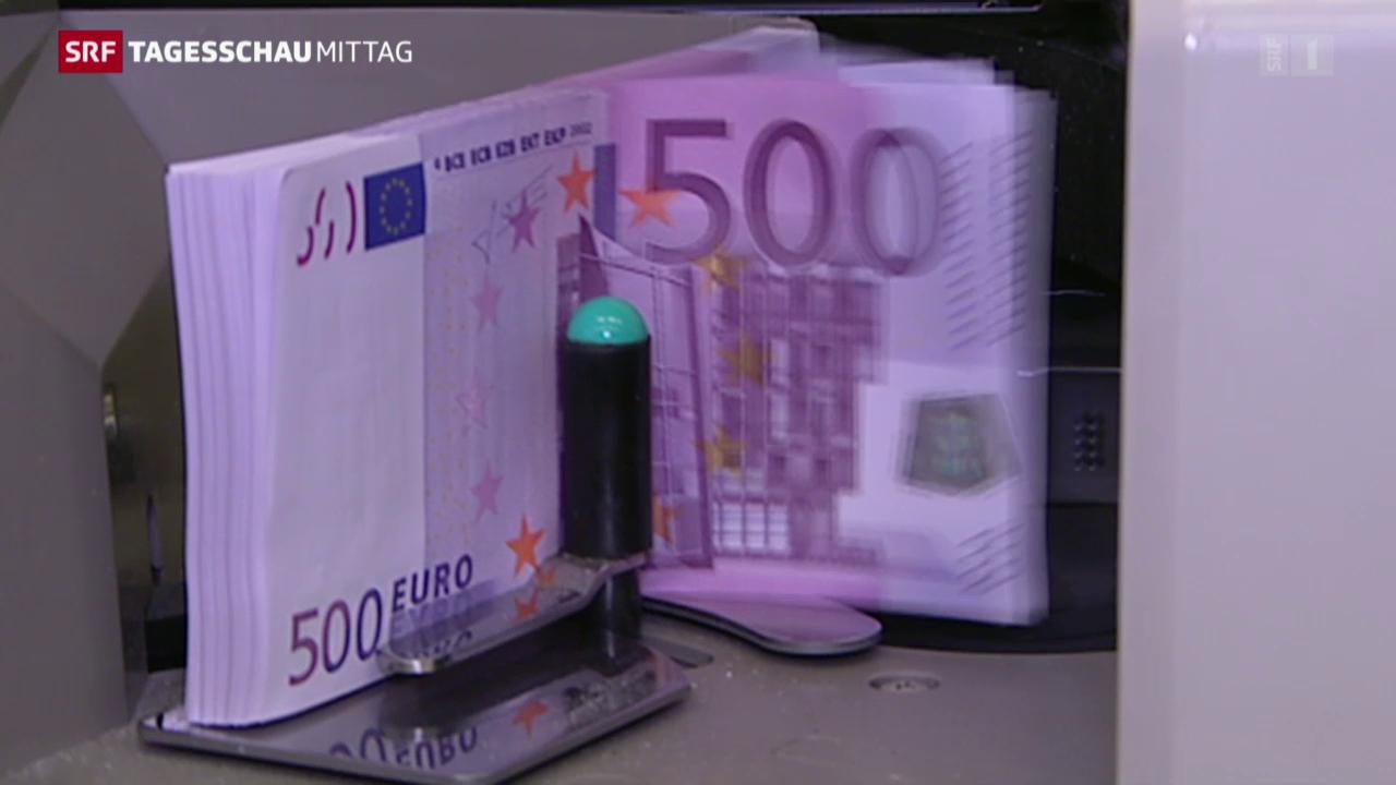 Eurogruppe will Obergrenze für Barzahlungen