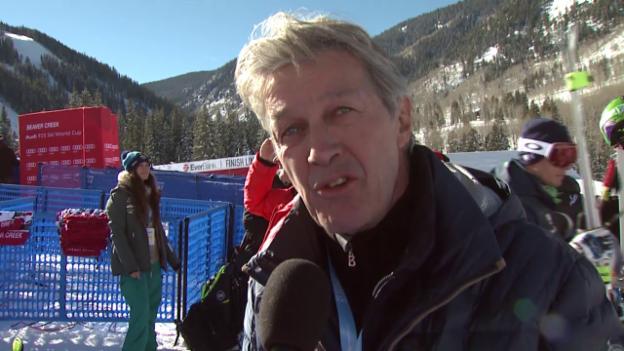 Video «Ski alpin: Bernhard Russi zur Ausgangslage bei der Abfahrt in Beaver Creek» abspielen