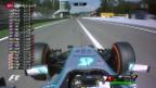 Video «Formel 1: Qualifying zum GP von Italien» abspielen