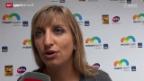 Video «Bacsinszky nach dem Sieg gegen Ivanovic» abspielen
