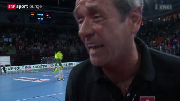 Video «Mit einem Handballverrückten auf dem Weg zur EM» abspielen