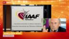 Video «Doping: Medienkonferenz des IAAF» abspielen