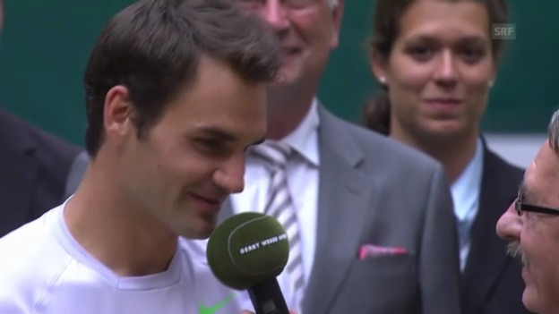 Video «Interview mit Roger Federer («sportlive»)» abspielen