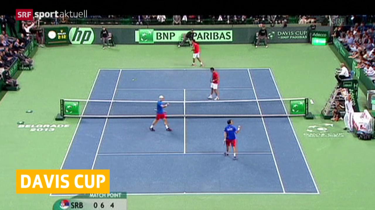 Tennis: Tschechien führt im Davis Cup