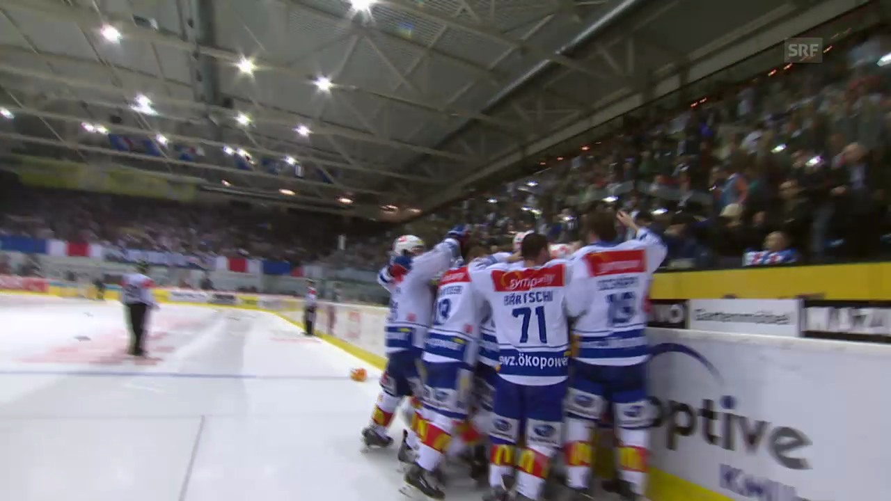 Highlights Kloten-ZSC Lions