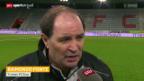 Video «Fussball: Stimmen zu Thun - Sion» abspielen