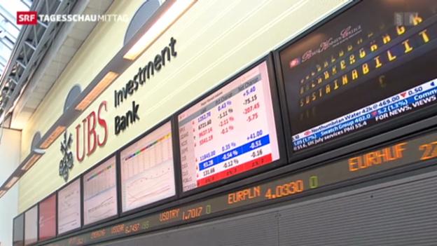 Video «UBS übertrifft Erwartungen» abspielen
