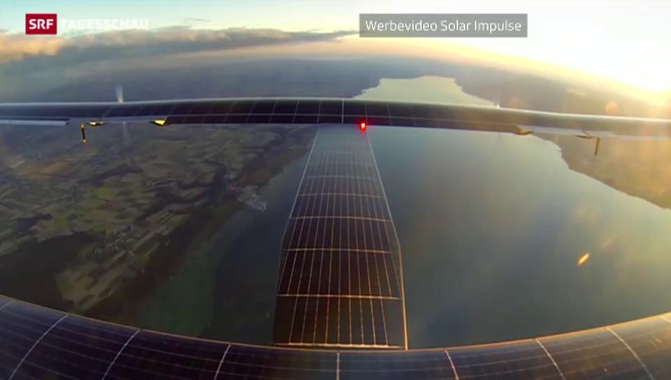 Piccard im Solarflugzeug um die Welt