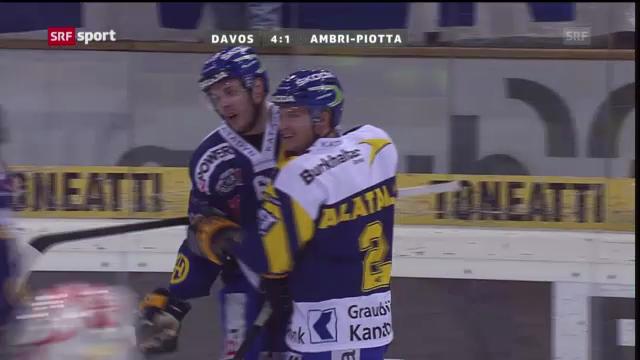 Eishockey: Davos - Ambri