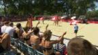 Video «Hüberli/Betschart besiegen die Kanadierinnen» abspielen