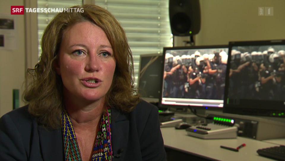 Amnesty-Sprecherin zur Polizeigewalt