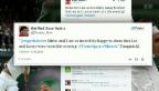 Video «Twitter: Sportwelt beglückwünscht Roger Federer» abspielen