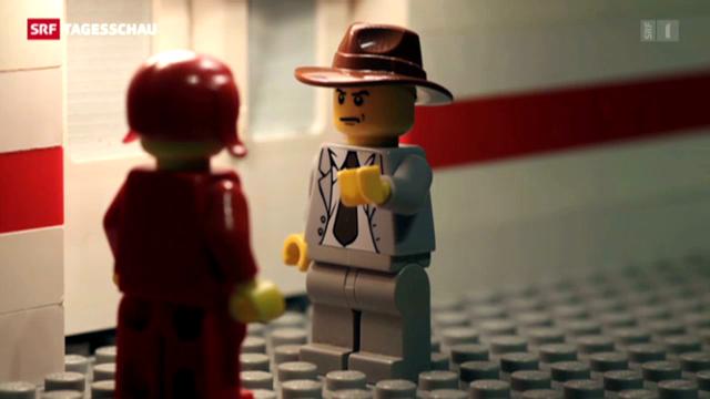 Philip Maloney in Lego (Tagesschau vom 27.07.2013)